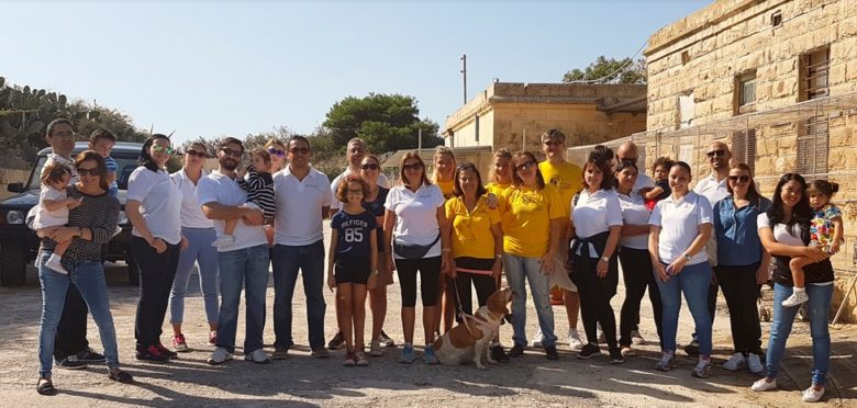 Donation and Dog Walk organised by proHealth employees in Aid of the Island Sanctuary